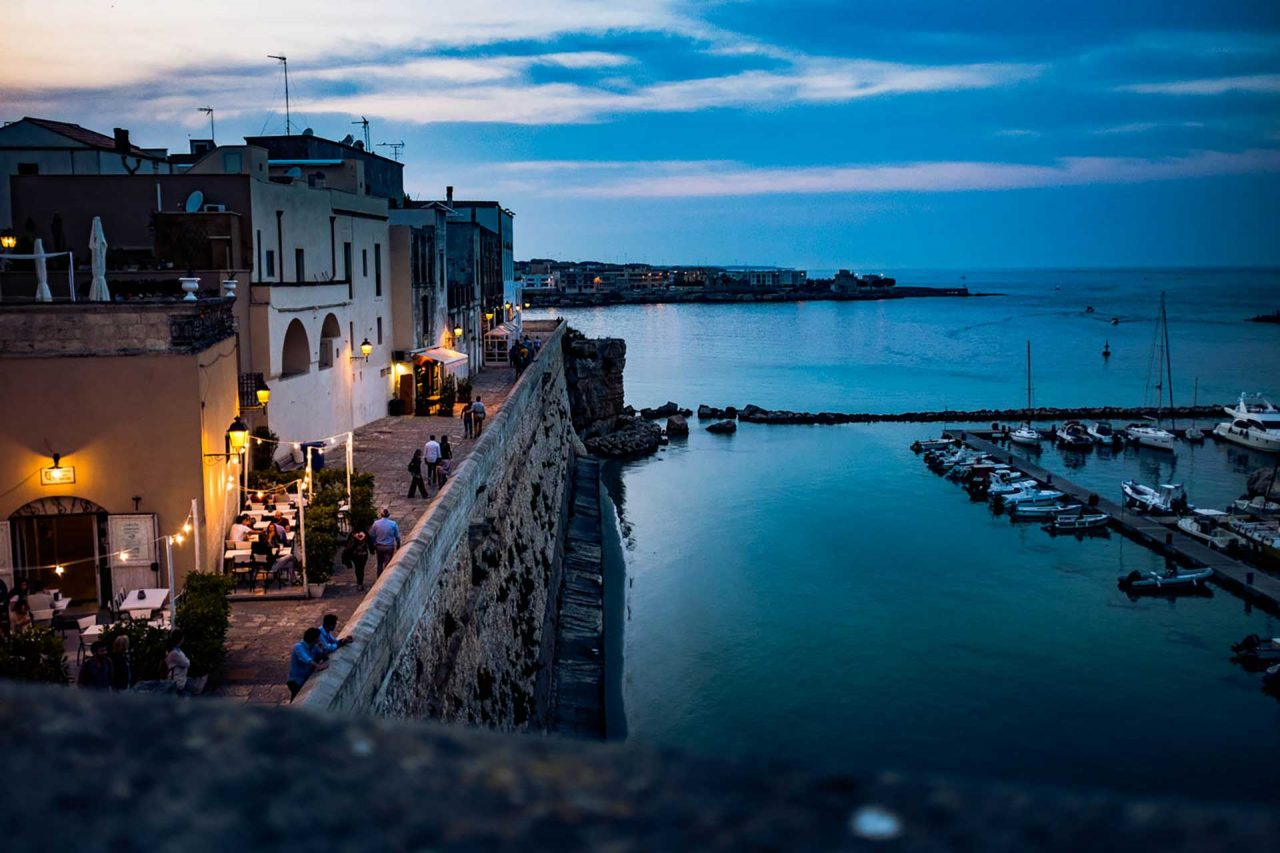visit the historic centre of Otranto
